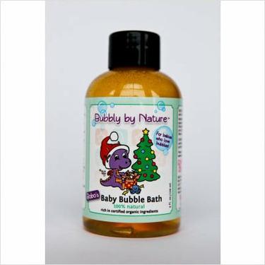 4 oz. Bobo's Natural Holiday Baby Bubble Bath