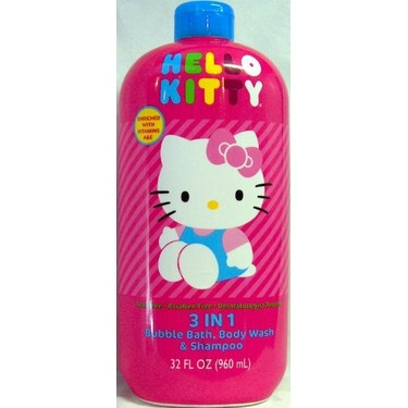 BUBBLE BATH , BODY WASH & SHAMPOO {32FL.OZ.}