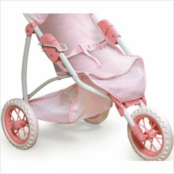 Three-Wheel Doll Jogging Stroller