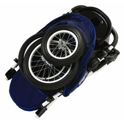 Schwinn Free Wheeler Jogging Stroller (Blue/Gray)
