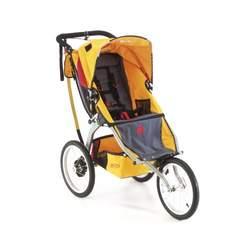 BOB Ironman Sport Utility Stroller in Racing Yellow
