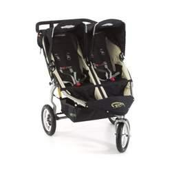 """BOB Revolution 12"""" Aluminum Wheel Duallie Stroller in Black"""