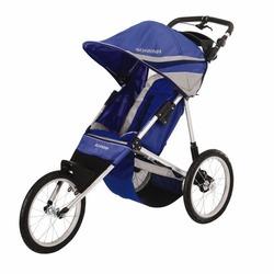 Schwinn Free Runner Jogging Stroller (Blue/Gray)