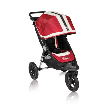 Baby Jogger City Elite Single Stroller Red Sport Reviews In