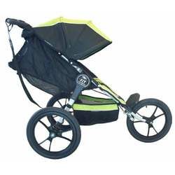 Baby Jogger F.I.T. Single Jogging Stroller, Slate/Black