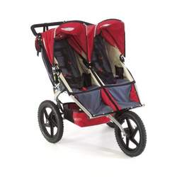 BOB Sport Utility Stroller Duallie in Red