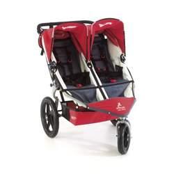 BOB Stroller Strides Fitness Stroller Duallie in Red