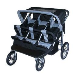 Safetech Triple Jogging Stroller Baby Jogger