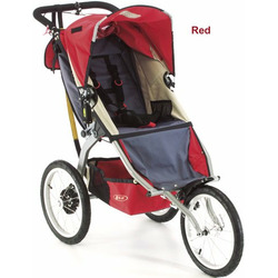 BOB Sport Utility Stroller D'lux in Red