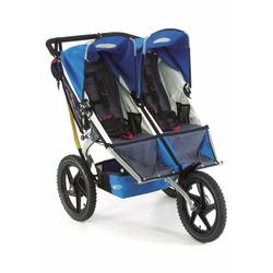 BOB Sport Utility Stroller Duallie in Pacific Blue
