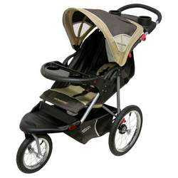 Baby Trend Expedition LX Jogging Stroller, Vanilla Bean