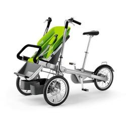 Taga Bike & Stroller - Green