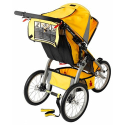 BOB Ironman Sport Utility Stroller Racing Yellow