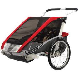 Chariot Carriers Inc Cougar 2 Stroller Red/Silver/Gray, One Size