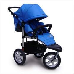 Tike Tech CityX3 CLASSIC BLACK Single Swivel Child Stroller