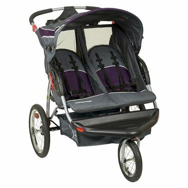 Baby Trend Double Jogger w/Speakers - Elixer