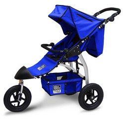 Tike Tech Single Trax360 Stroller - Pacific Blue