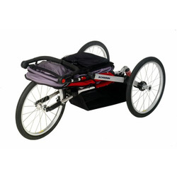 Schwinn Joyrider Jogging Stroller (Red/Gray)