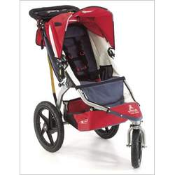 BOB Stroller Strides Fitness Stroller Set: RED with HandleBar Console