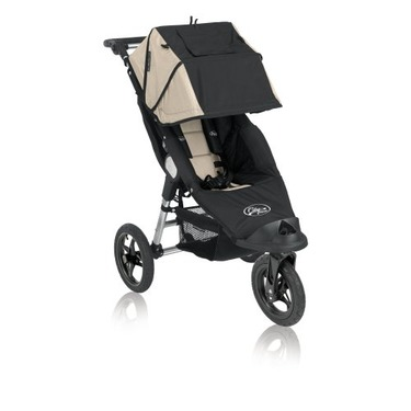 Baby Jogger City Classic Single Stroller, Black & Stone