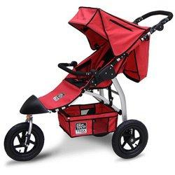 Tike Tech Single Trax360 Stroller- Red