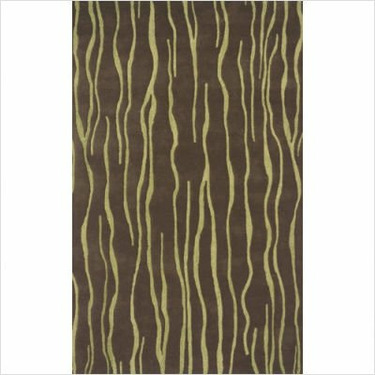 Safari SAF-10811 Contemporary Rug Size: 2' x 3'