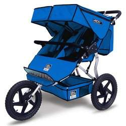 Tike Tech Double Sport Series Stroller - Pacific Blue