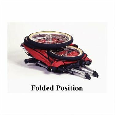 Kool-Stride Lil Deuce Double Jogging Stroller Color: Red