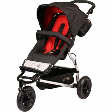 Mountain Buggy Swift Stroller in Chilli