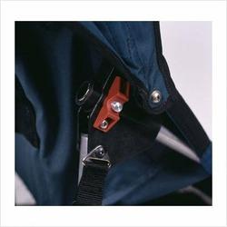 Kool-Stride Lil Deuce Double Jogging Stroller Color: Navy Blue