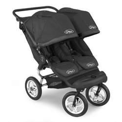 Baby Jogger City Elite Double Stroller - Black/Black