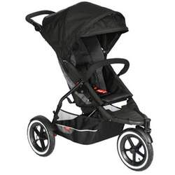 Sport Buggy Single Jogging Stroller - Black