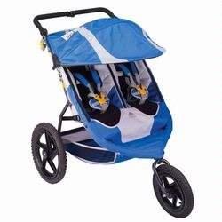 Kelty Kids 20090216 Speedster Swivel Deuce Double Jogging Stroller
