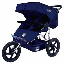 Tike Tech ATX Double Jogger Stroller- Midnight Navy