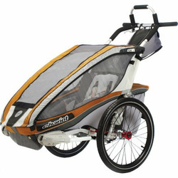 Chariot Carriers Inc CX1 Stroller Copper/Gray/Silver, One Size