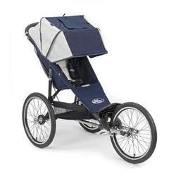 "Baby Jogger Performance Series Single Jogger 20""Navy/Silver"