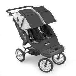 Baby Jogger City Classic Double Stroller - Black/Silver