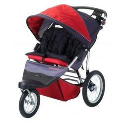 Free Wheeler AL 2 Red & Black Swivel Wheel Stroller