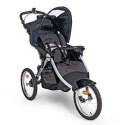Jeep Overland Limited Music on the Move Jogging Stroller