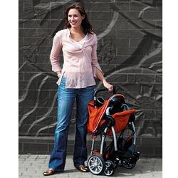 Kolcraft Contours Lite Stroller, Tangerine