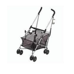 Maclaren Easy Traveller Stroller, Black and Silver