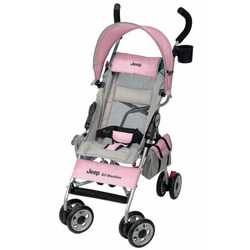 Jeep All Weather Umbrella Stroller, Pink