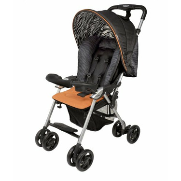 Combi Cosmo 2010 Lightweight Stroller, Orange
