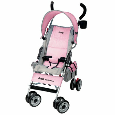 Jeep All Weather Umbrella Stroller, Ice Pink