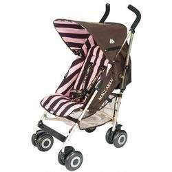 Juicy Couture Maclaren Buggy Stroller with FINGER PINCH GUARD PROTECTION