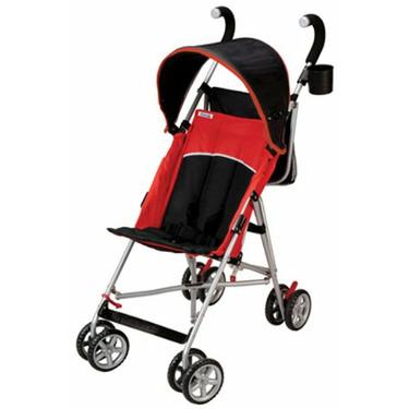Tour Sport Reclining Umbrella Stroller - Red/Black