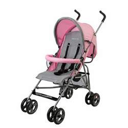 Dream On Me Fashionable Peek a Boo Stroller, Pink
