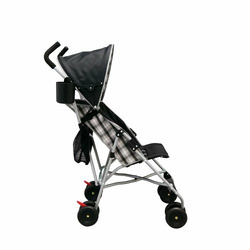 Delta Urban Street DX Stroller, Black And White Plaid