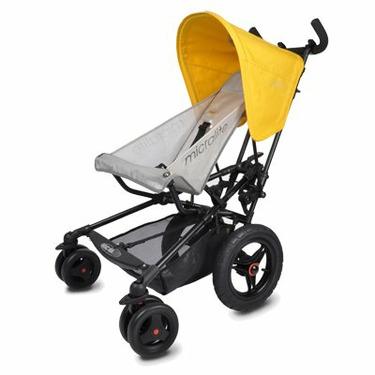 Micralite FastFold Superlite Stroller in Yellow