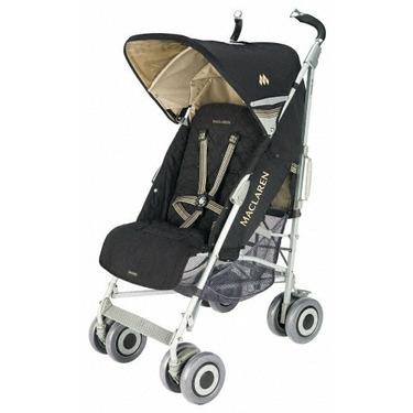 Maclaren Techno XLR Stroller, Black and Champagne
